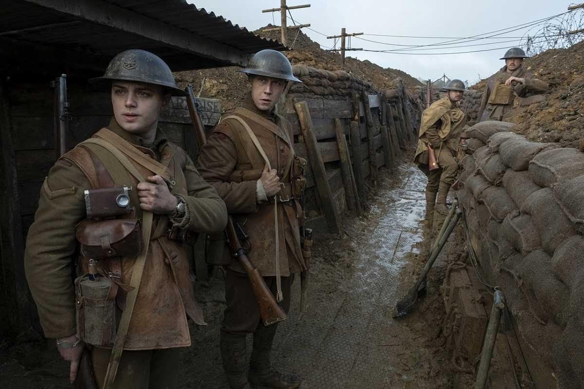 伝令 かけ た を 1917 命