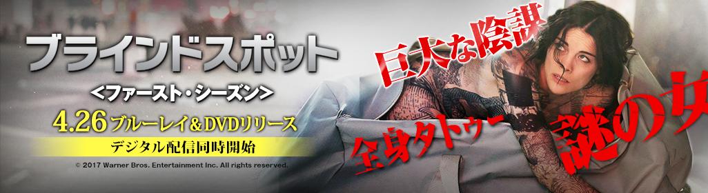 『ブラインドスポット<ファーストシーズン>』4.26ブルーレイ&DVDリリース デジタル配信同時開始