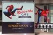 「スパイダーマンカフェ」入口